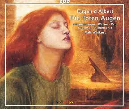 Lothar Odinius d' Albert Die toten Augen