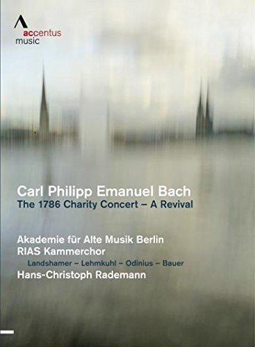 Lothar Odinius DVD Carl Emanuel Bach A Revival