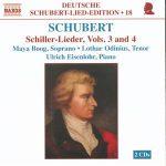 Lothar Odinius Franz Schubert Schiller Lieder