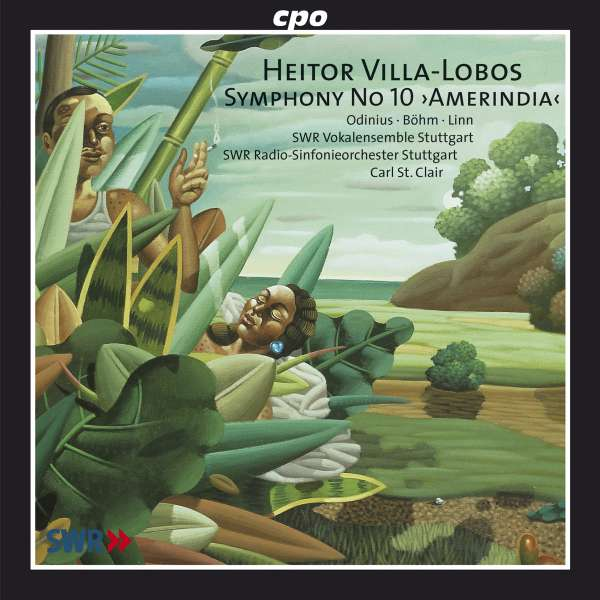Lothar Odinius Heitor Villa Lobos Amerindia