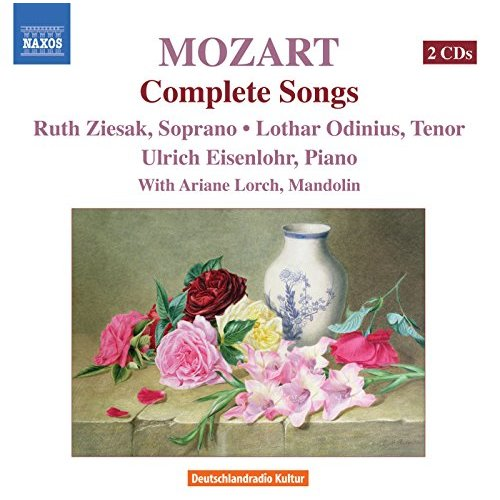 Lothar Odinius Mozart Complete Songs